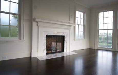 hardwood floor pictures living room with marble fireplace