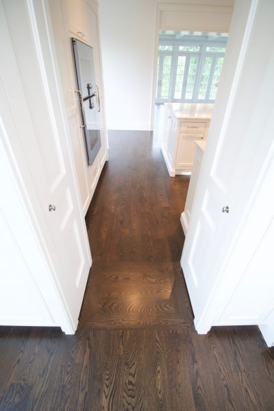 hardwood floor pictures - entryway into kitchen